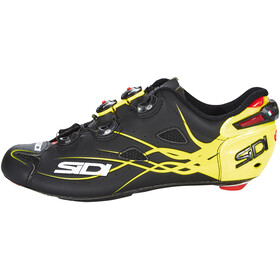 Sidi Shot Shoes Men Matt Black/Yellow Fluo
